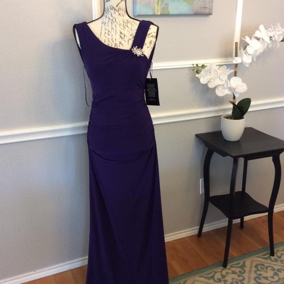 Spiegel Dresses Nwt Floor Length Amethyst Formal Dress Poshmark